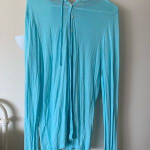 Old Navy light weight cardigan- Teal blue